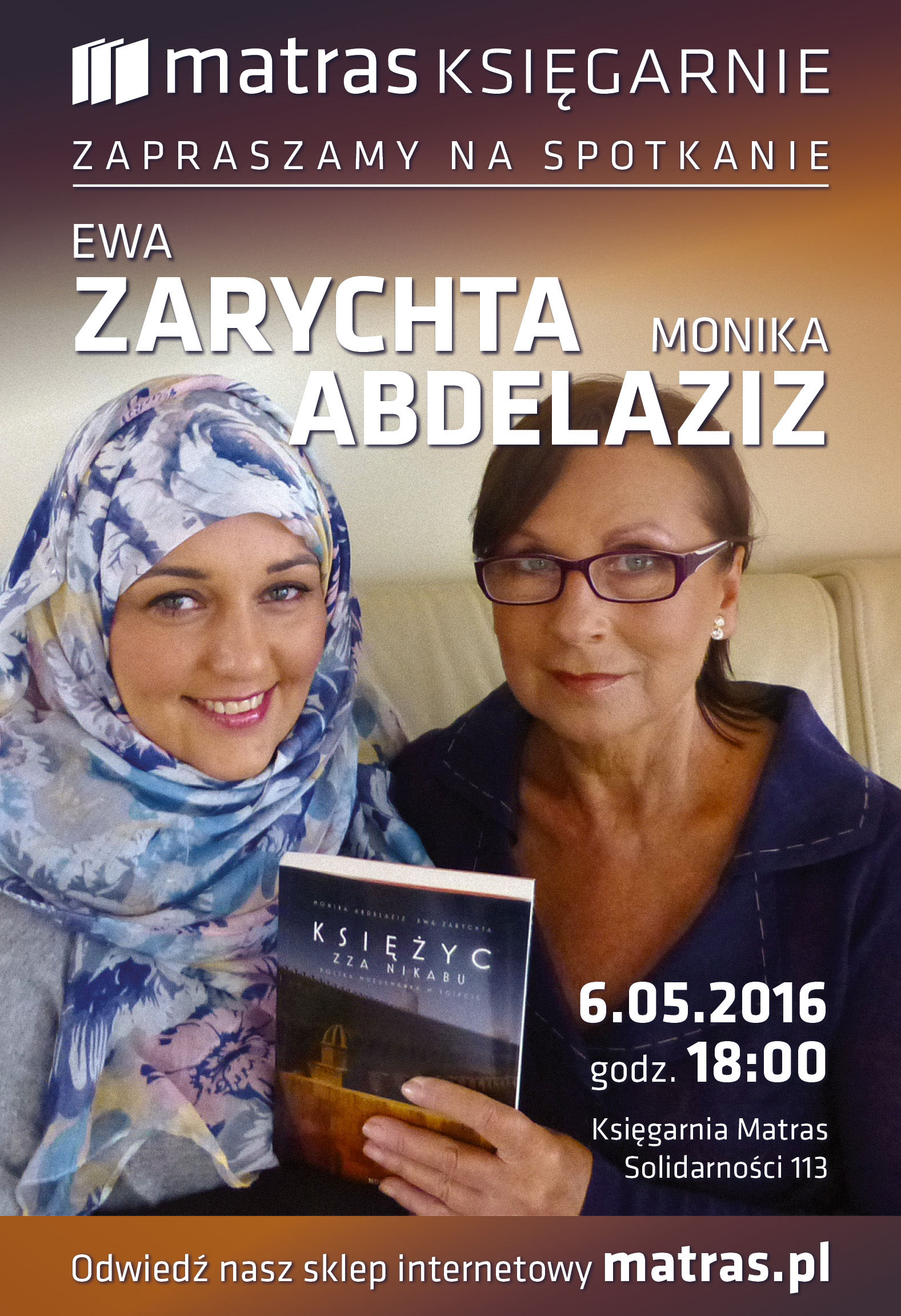 matras_spotkanie_abdelaziz i zarychta_2016_WARS_plakat_A3_v2