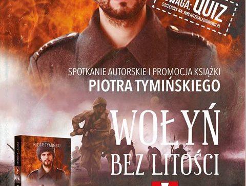 Spotkanie z Piotrem Tymińskim