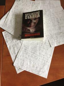 Spowiedź Diabła i moje notatki towarzyszące mi podczas pisaniaaaa