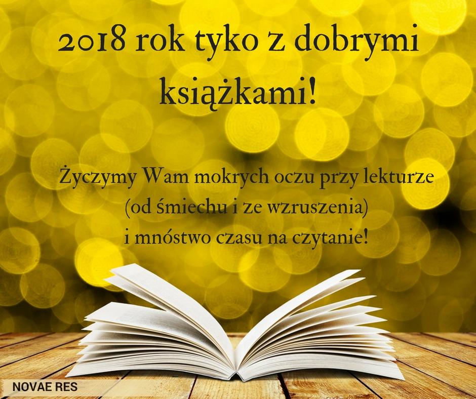 W 2018 rok tyko z dobrymi książkami!